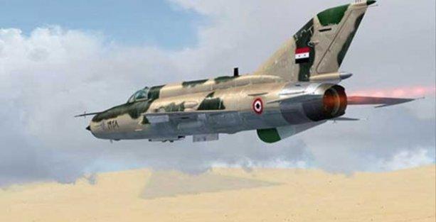 Suriye, IŞİD'in ele geçirdiği uçakların imha edildiğini açıkladı