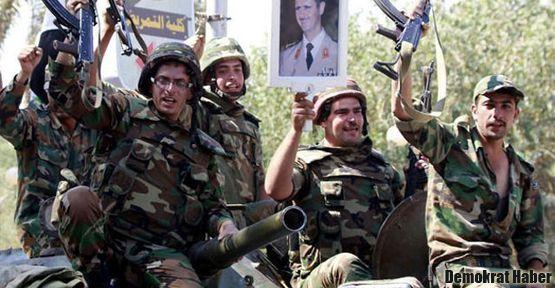 Suriye ordusundan dev tatbikat