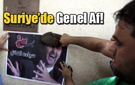 Suriye'de Genel Af!