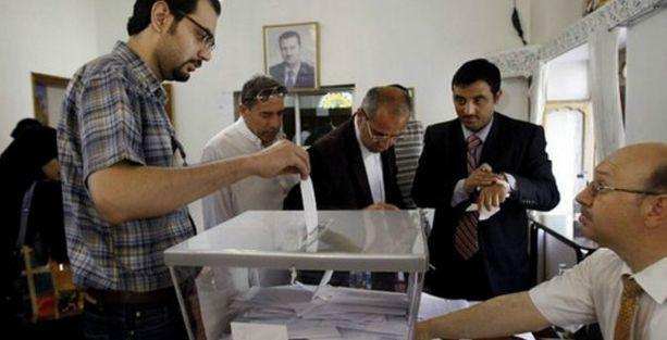 Suriye'de iç savaşın gölgesinde seçim