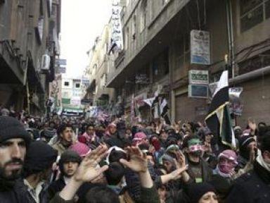 Suriye'de kanlı cumartesi