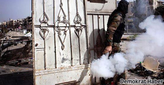 Suriye'de 'kimyasal silah' saldırısı iddiası