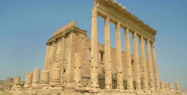 Suriye'de kültür mirası yok oluyor