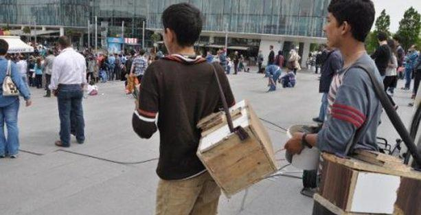 Suriyeli çocuklar Türkiye'de işçi olarak çalışıyor