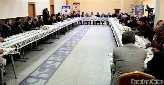 Suriyeli muhalif 50 komutan Antep'te buluştu