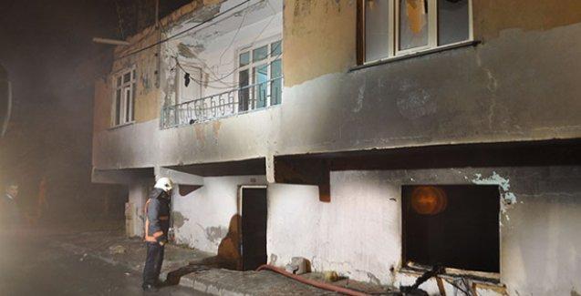 Suriyeli sığınmacıların kaldığı evi ateşe verdiler