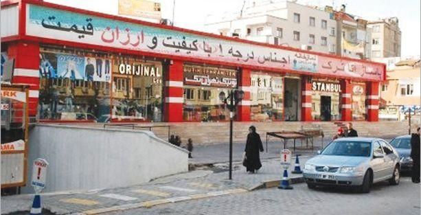 Suriyelilere ait dükkanlara denetim