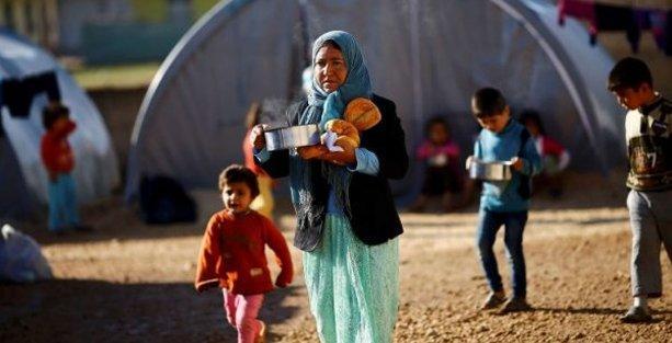 Suriyelilere gıda yardımı kaynak yetersizliğinden durdu!