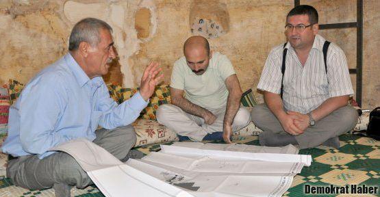 Süryani köylü Mardin'e botanik park yapmak istiyor