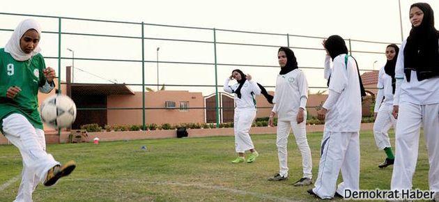 Suudi kızlara 'şartlı' spor izni