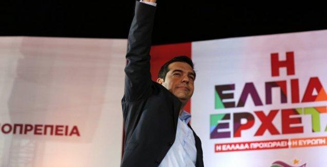 Syriza, Guardian'ın manşetinde: Berlin'e karşı Yunan halkının zaferi
