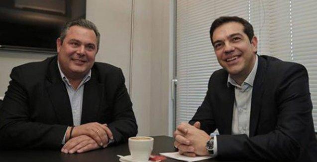 Syriza, koalisyon için Bağımsız Yunanlar Partisi'yle anlaştı