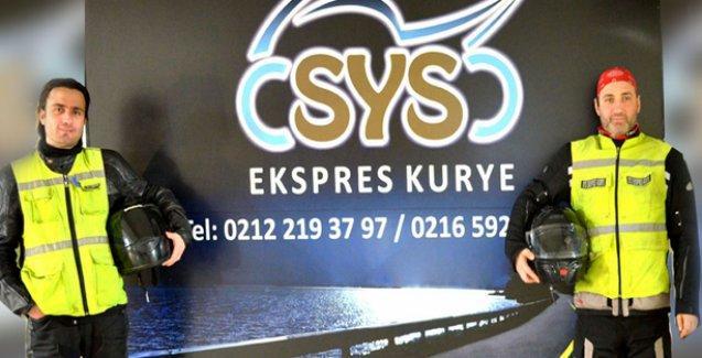 SYS Moto Kurye İstanbul Geneline Hizmet Veriyor