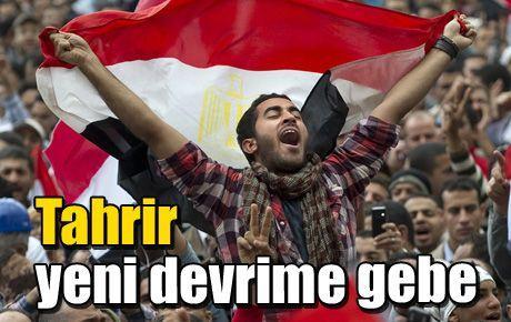 Tahrir yeni devrime gebe