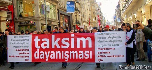Taksim Dayanışması 19.00'da Taksim'e çağırıyor!