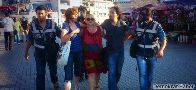Taksim Dayanışması üyelerinin evlerinde polis araması