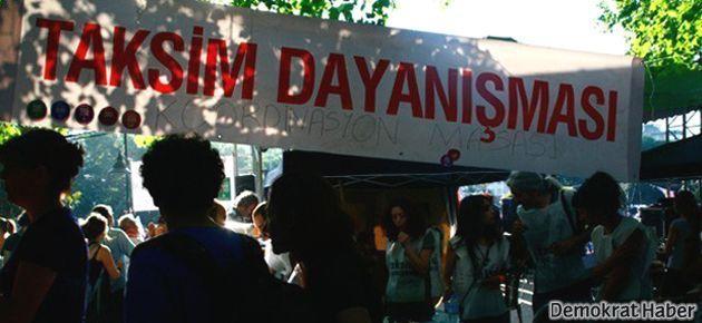 Taksim Dayanışması'ndan iddianame açıklaması