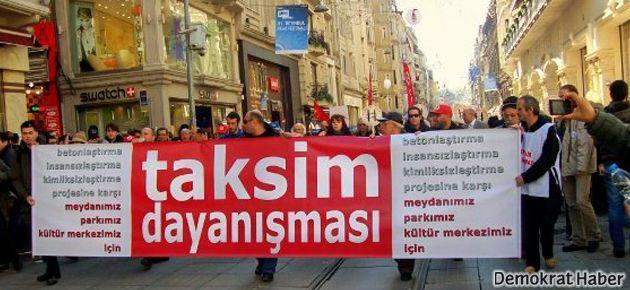 Taksim Dayanışması'ndan 'Parkımıza gidiyoruz' çağrısı