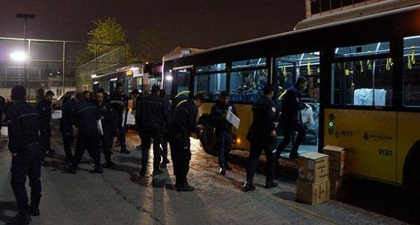 Taksim'e çıkan yollar polis ablukasında