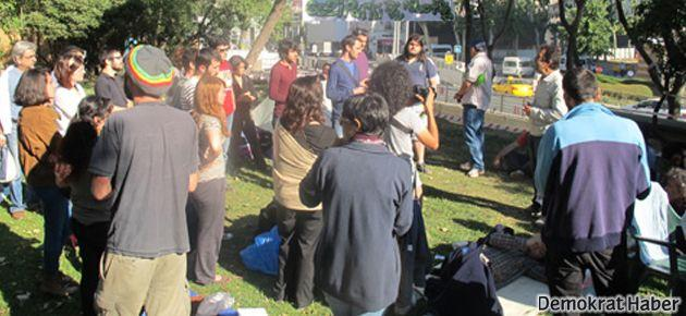 Taksim Gezi Parkı'nda açıklama
