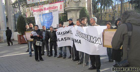 'Taksim projesi engellilere ulaşımı yasaklıyor'