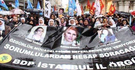 Taksim'de binler Fransız konsolosluğuna yürüdü