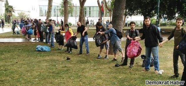 Taksim'deki eylem 6. gününde devam ediyor