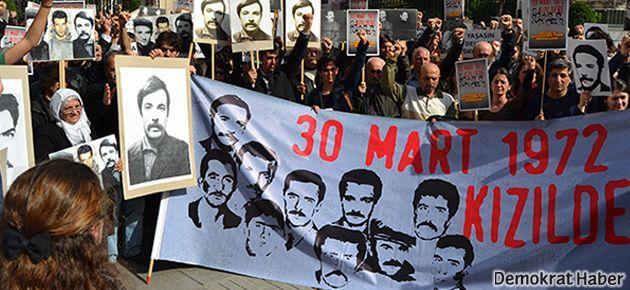 Kızıldere'de katledilen On'lar Taksim'de anıldı
