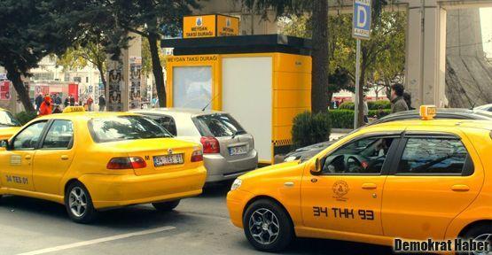 Taksimetre trafikte de yazacak