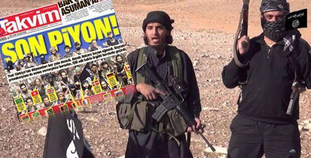 Takvim, IŞİD baskını ile Gezi'yi yan yana getirdi
