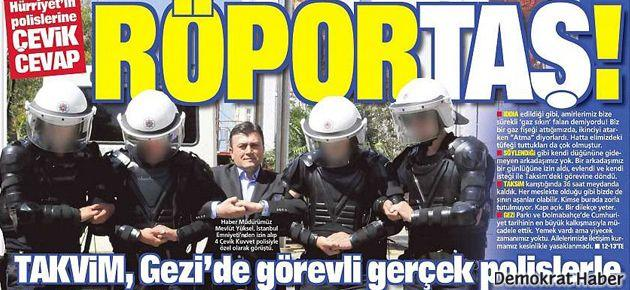 Takvim'den Ayşe Arman'a 'Amanpour' benzetmesi