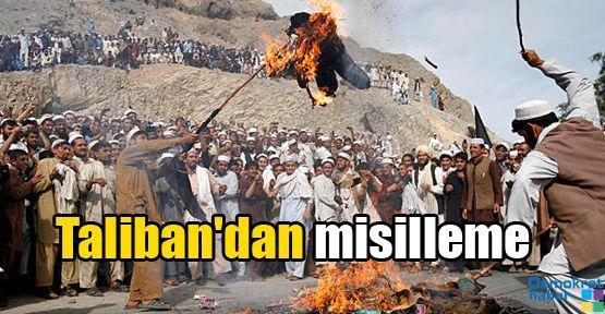 Taliban'dan misilleme