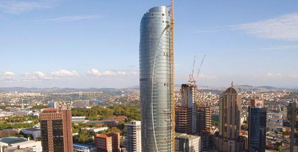 Tamamlanmak üzre olan Spine Tower'a ÇED olumsuz raporu