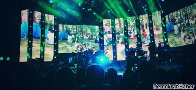 Tarkan konserinde 'Gezi Parkı' damgası