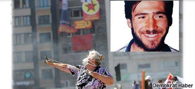 'Taş atan teyze' ve Hasan Ocak fotoğrafları suç