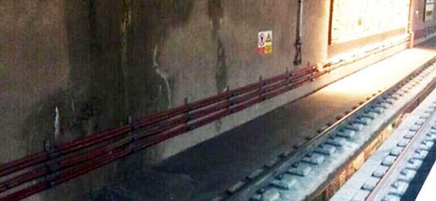 TCDD yetkilileri, Marmaray'daki sızıntıyı doğruladı