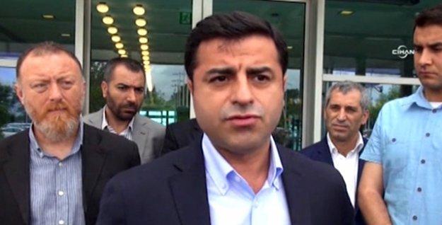 'Telefonla aradım, açmadı' diyen Erdoğan'a Demirtaş'tan yanıt