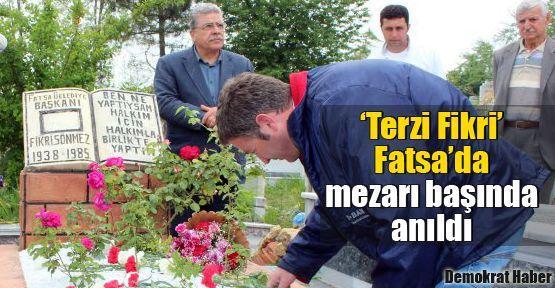 'Terzi Fikri' Fatsa'da mezarı başında anıldı