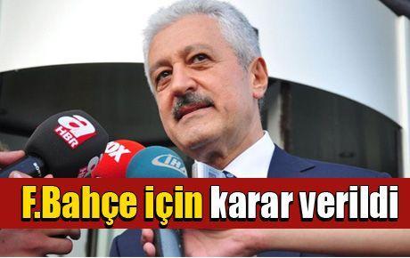 TFF Fenerbahçe kararını açıkladı