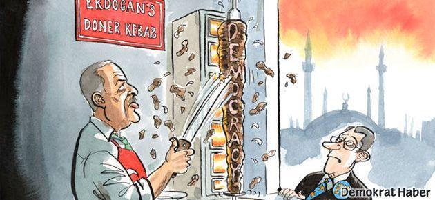 The Economist Erdoğan'ı 'dönerci' yaptı