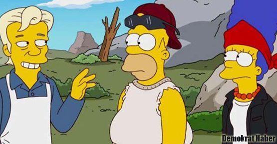 'The Simpsons' son bölümde Assange'ı ağırlıyor