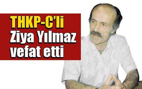 THKP-C'li Ziya Yılmaz vefat etti