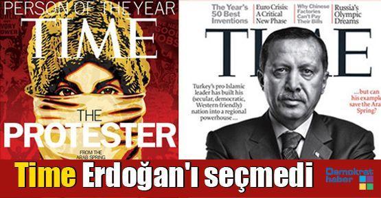 Time Erdoğan'ı seçmedi