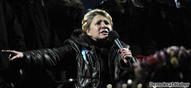 Timoşenko Bağımsızlık Meydanı'nda