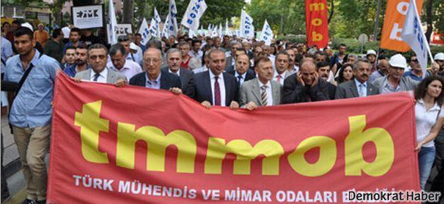 TMMOB: 12 Eylül AKP ile devam ediyor