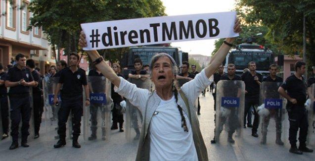 TMMOB 'tehditlere karşı' olağanüstü genel kurula gidiyor