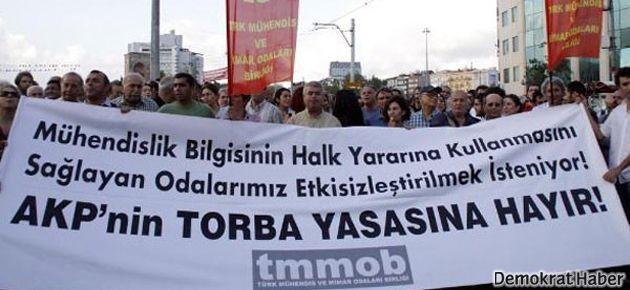 TMMOB'dan Cumhurbaşkanı'na veto çağrısı