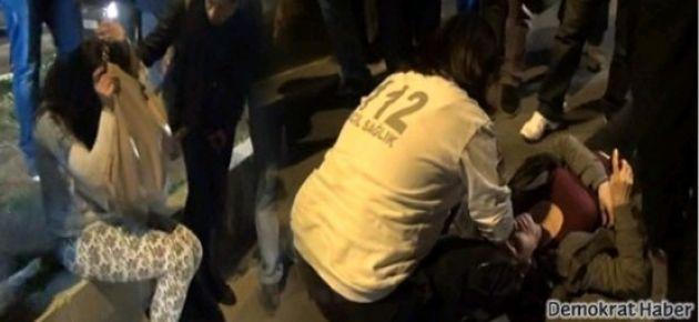 TOMA'nın çarptığı iki kadın taburcu edildi