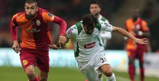 Torku Konyaspor Galatasaray maçı saat kaçta, hangi kanalda