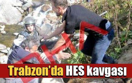 Trabzon'da HES kavgası